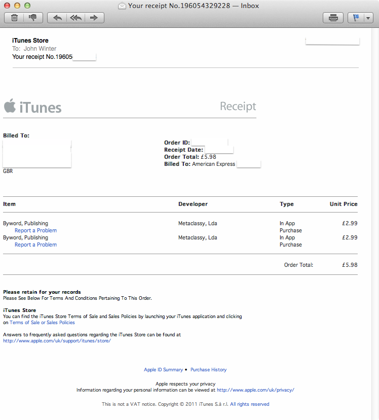 How To Get An App Refund From Apple - Create invoices for free apple store online shopping
