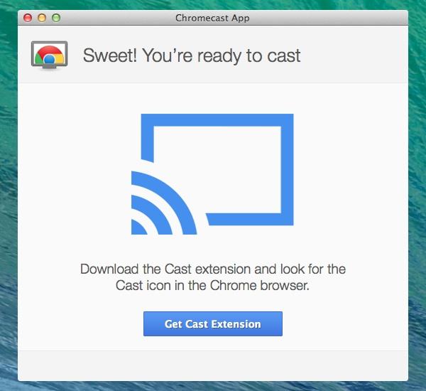 google chromecast extension for macbook pro