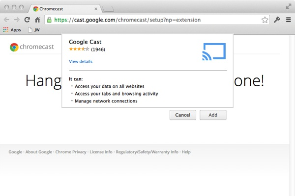 Getting Started With Google Chromecast and a Mac