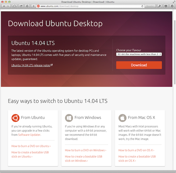 ubuntu usb how to make mac