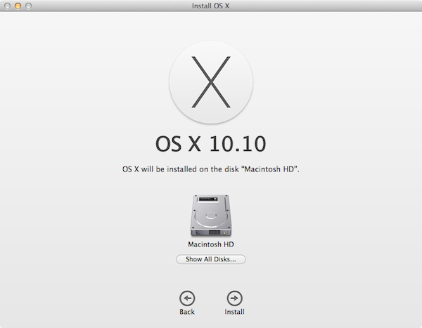 How to Install OS X 10 10 Yosemite on an External Drive