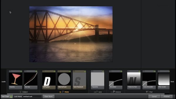 Magic Bullet Looks gives this scene really beautiful sunset colors