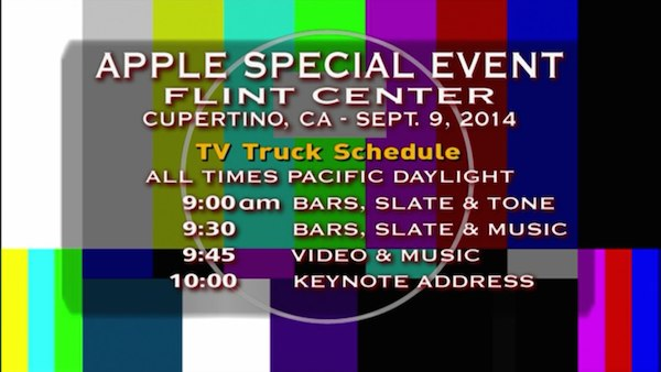When live-streaming an Apple event goes wrong