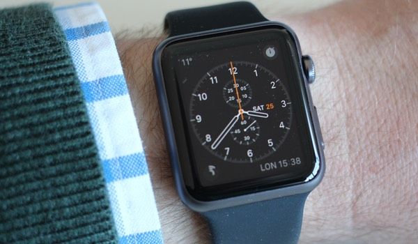 Apple Watch Chronograph watch face