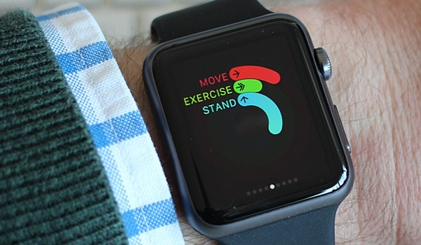 Apple Watch can track activity and fitness goals