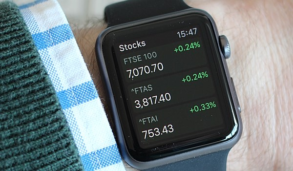 Stocks on Apple Watch