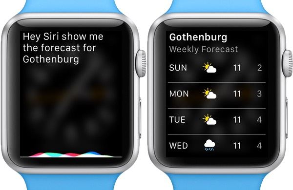 Get the weather forecast for any location quickly and easily