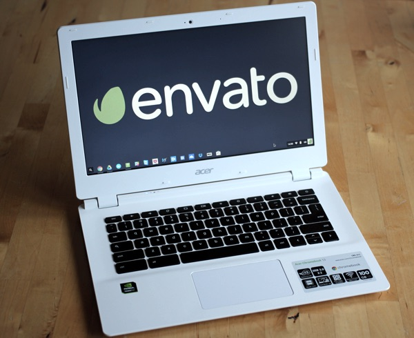 A Chromebook
