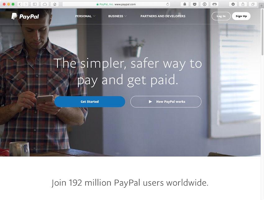Go to paypalcom and log into your account