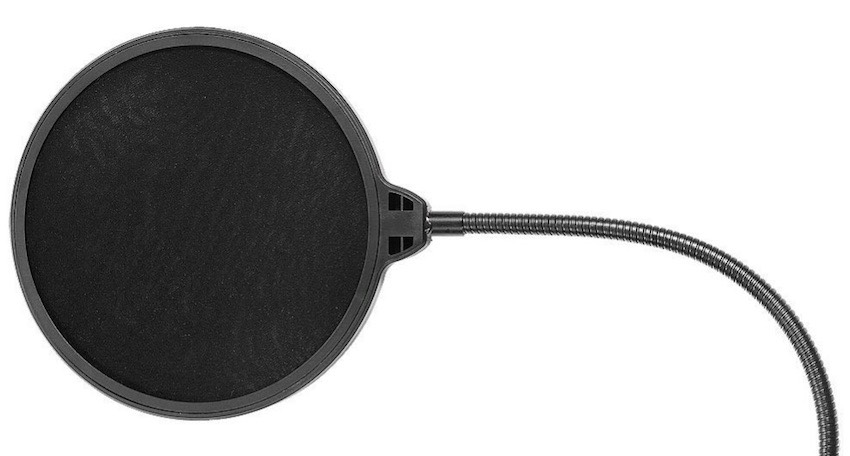 Pop filter - an essential requirement for any vocalist