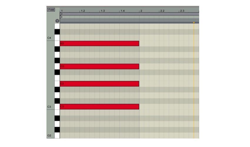 A C-Major seventh chord