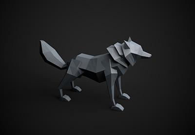 Wolf thumb