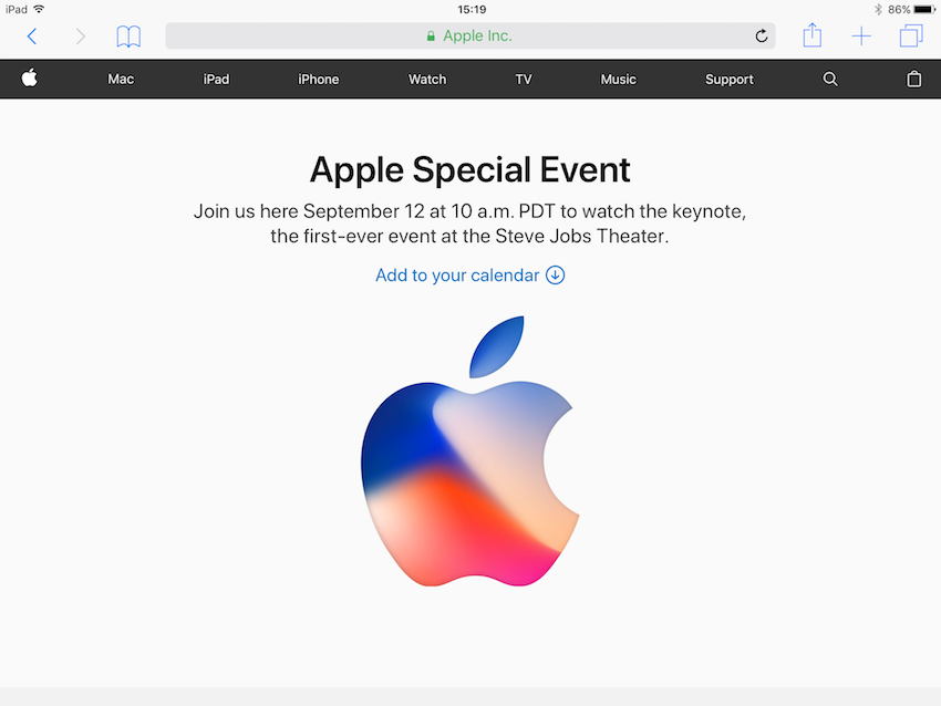 How to Watch the Apple Special Event on 12th September 2017