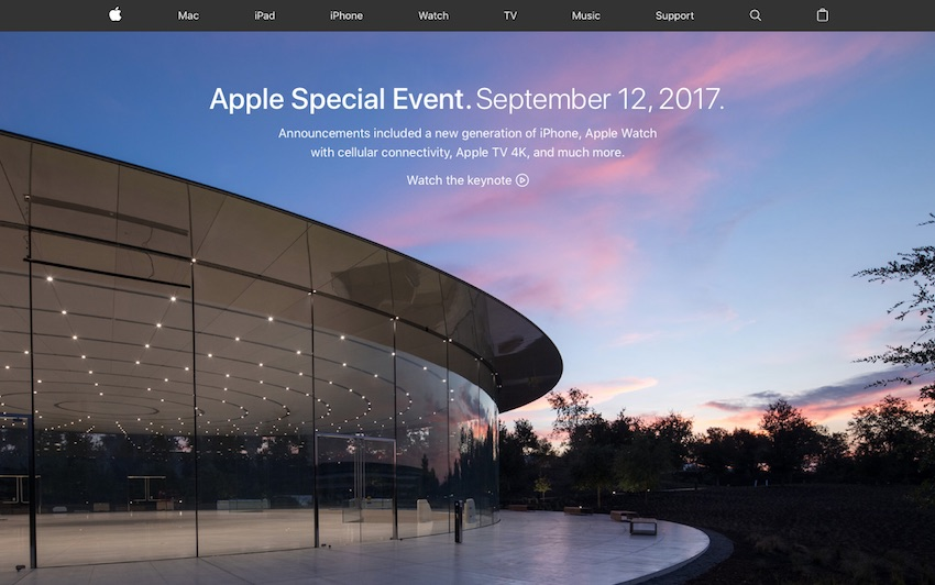 Apple Event September 2017 Round Up
