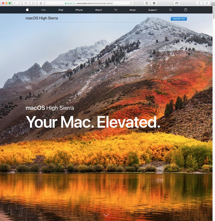 Preparing a Mac for Upgrade to macOS High Sierra