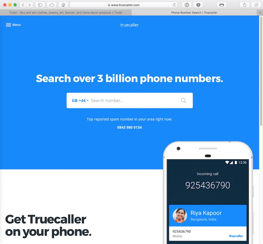 Truecaller wanted to make it possible for you to know whos trying to contact you