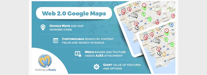 Google Maps Locator plugin for WordPress