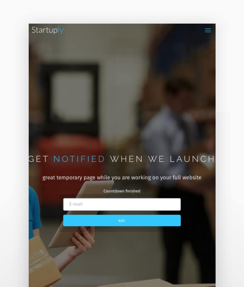 Startuply  Multi-Purpose Startup Theme