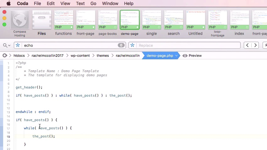 Adding a loop in the code