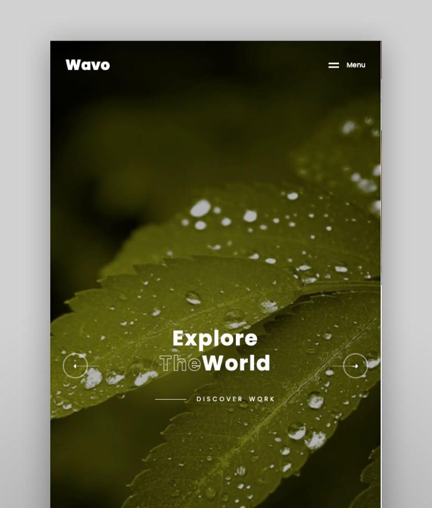 Wavo—Creative Portfolio & Agency Theme