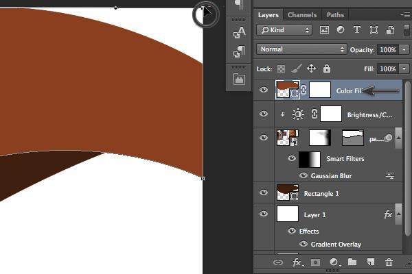 添加錨點到顏色層