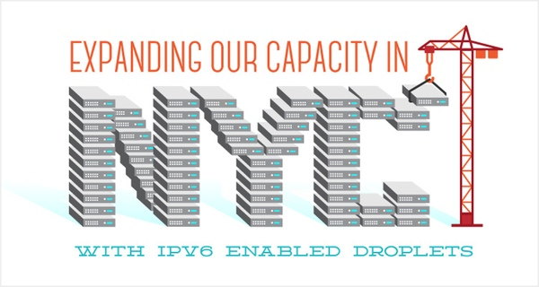 Digital Ocean offers IPv6 addressing from their new NYC droplets