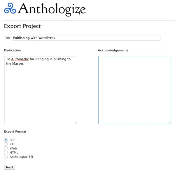Choose your ebook publishing format