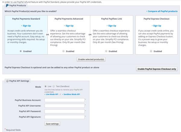 PrestaShop - Ajouter des options PayPal