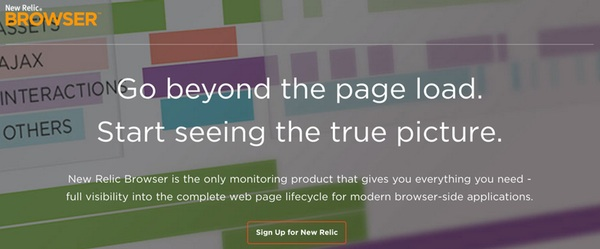 New Relic Browser - Go beyond the page load