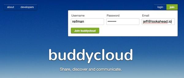 Demo BuddyCloud