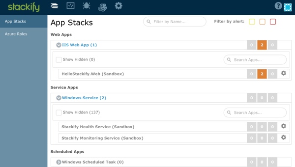 Stackify App Stacks