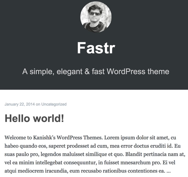 Fastr - a free open source WordPress theme like Mediumcom