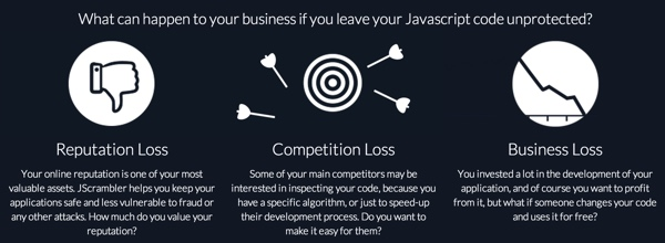 JScrambler What Can Happen If You Leave Your JavaScript Unprotected