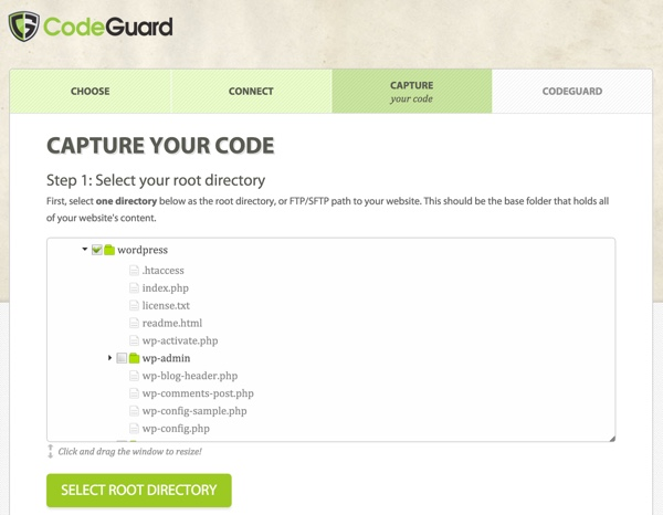 CodeGuard Capture Your Code
