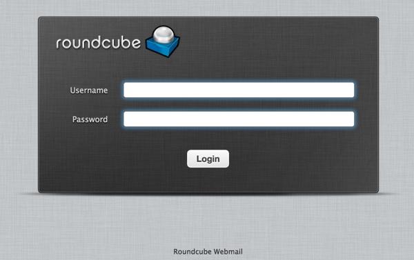 iRedMail RoundCube Login