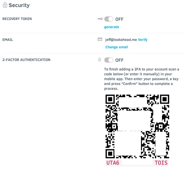 Stellar Security and Two Factor Authentication