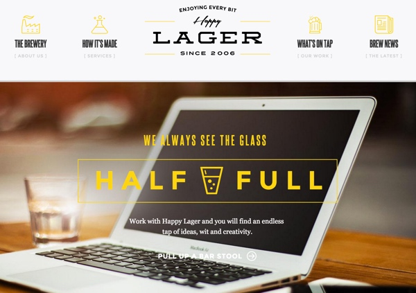 Craft Demo Site Happy Lager