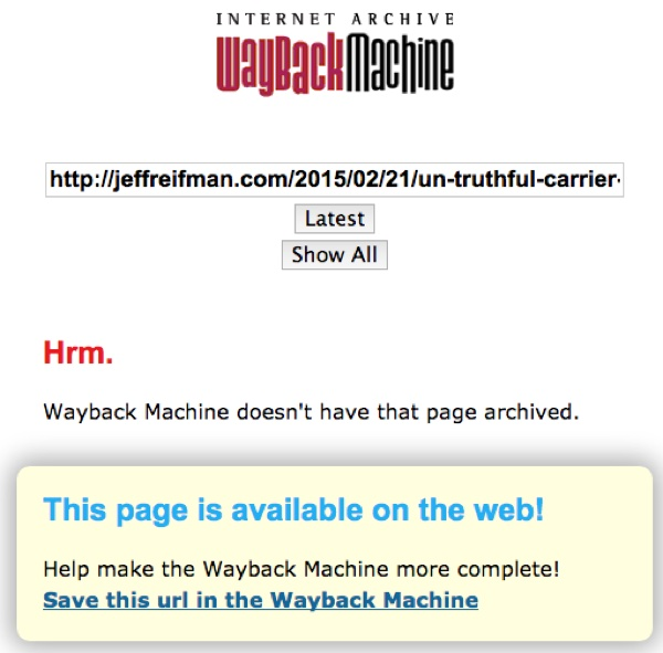 Use the Wayback Machine - Internet Archive
