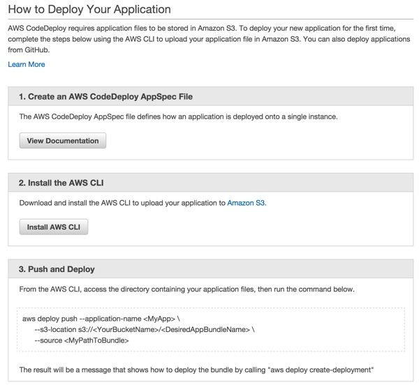 Codeship AWS Code Deploy How to Deploy Your Application