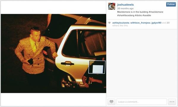 Macklemore Arrives on Instagram