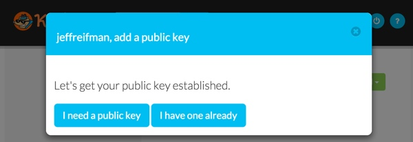 Keybase Add a public key for Jeff Reifman
