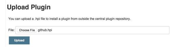 Jenkins Upload Plugin