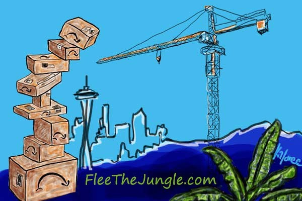 Flee the Jungle image by Kali Snowden