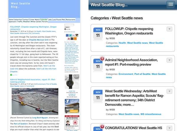 Telerik Responsive Web Design Early Mobile Web Plugin for WordPress