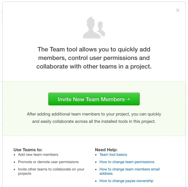 Assembla Invite New Team Members
