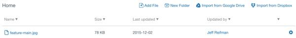 Assembla File Listings