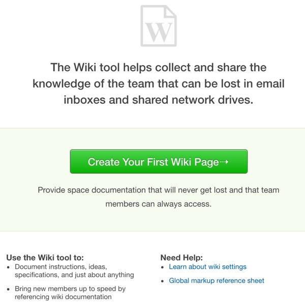 Assembla Create a Wiki Page
