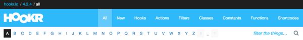 Hookr WordPress Plugin - The Navigation Bar for the WordPress Core