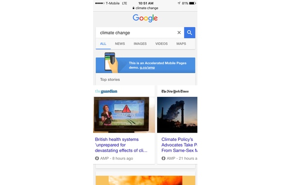 AMP for WordPress - AMPed Google Search Results on Mobile