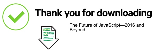 JavaScript 2016 - Thank you for downloading notice
